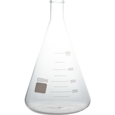 5000 ml Ehrlenmeyer Flask