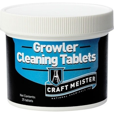 Craftmeister Growler Tablets 25 ct.