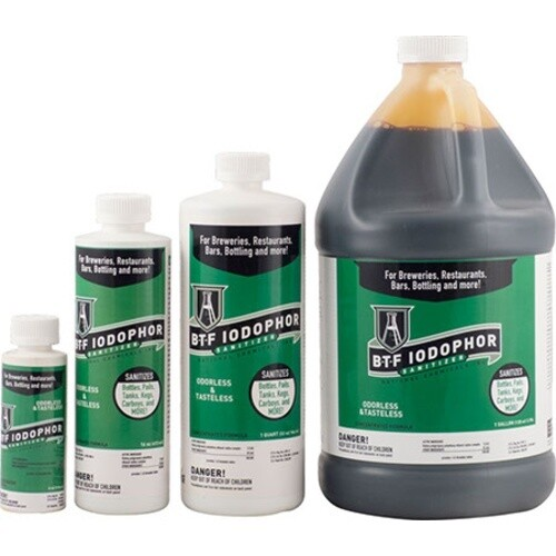 BTF Iodophor Sanitizer- 32oz