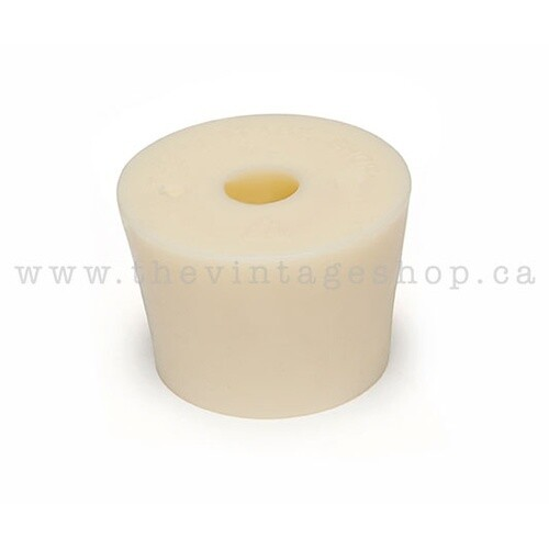 Rubber Stopper #7.5 Drilled