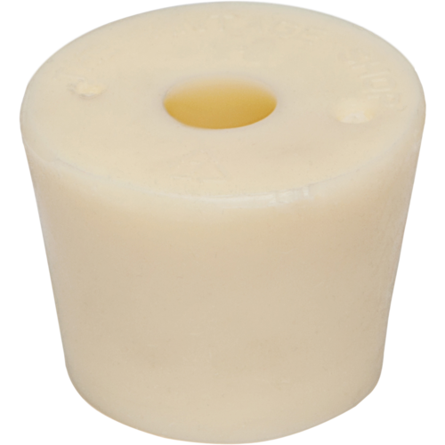 Rubber Stopper- #9.5 Drilled