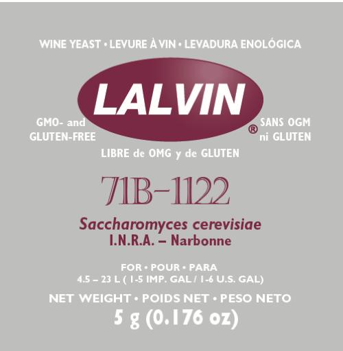 Lalvin 71B-1122 5g