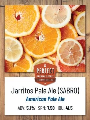 Jarritos Pale Ale- PBS Kit **ALL GRAIN**