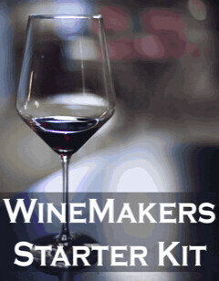 Winemaking PBS Equipment Kit w/ Glass Carboy