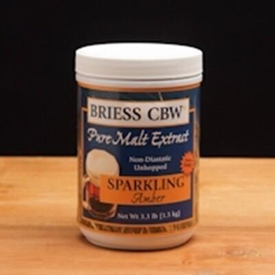 Briess Sparkling Amber 3 lb Jar