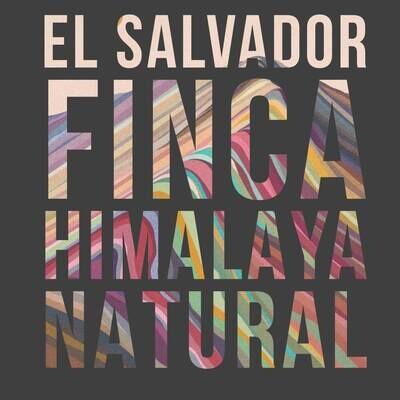 El Salvador Finca Himalaya Natural 1lb Whole Bean Coffee