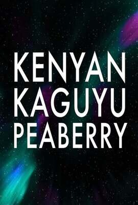 Kenyan Kaguyu Peaberry Coffee 1lb