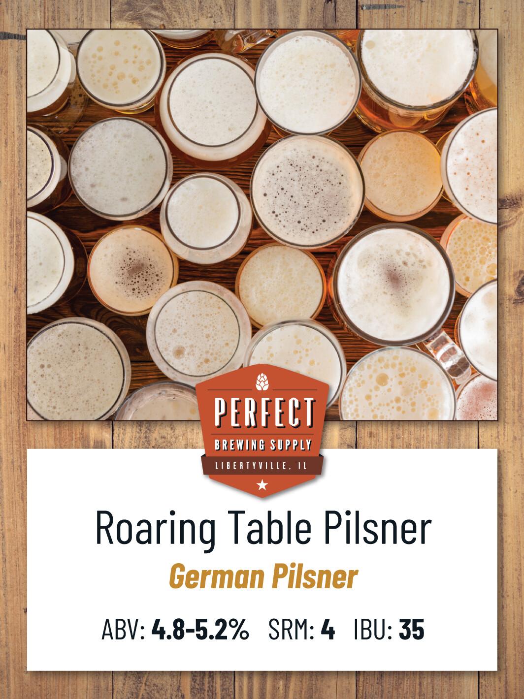Roaring Table Pilsner- All Grain Kit