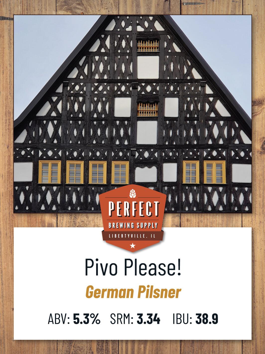 Pivo Please!- PBS Kit **ALL GRAIN**
