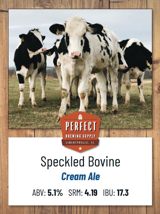 Speckled Bovine- PBS Kit **ALL GRAIN**