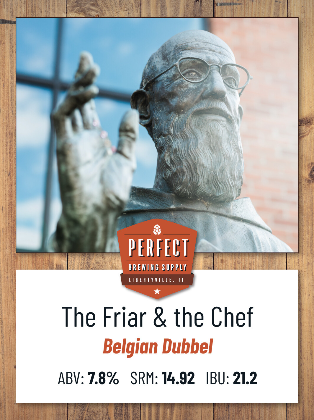 The Friar & the Chef Dubbel- PBS Kit **ALL GRAIN**