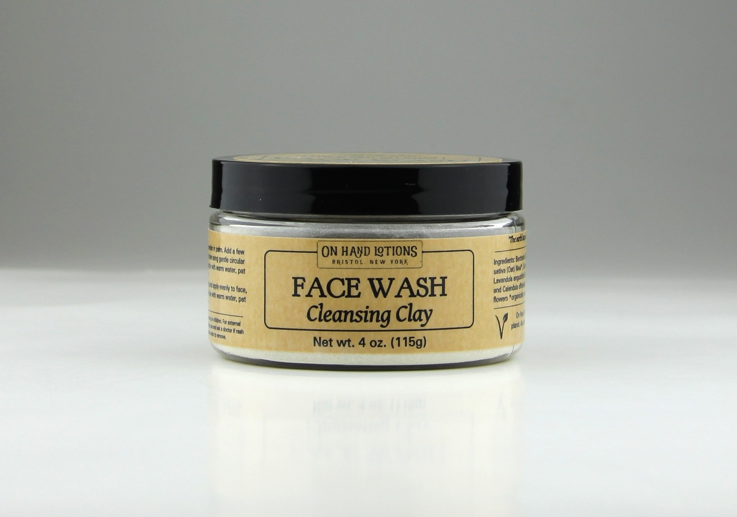 Cleansing Clay Face Wash & Mask
