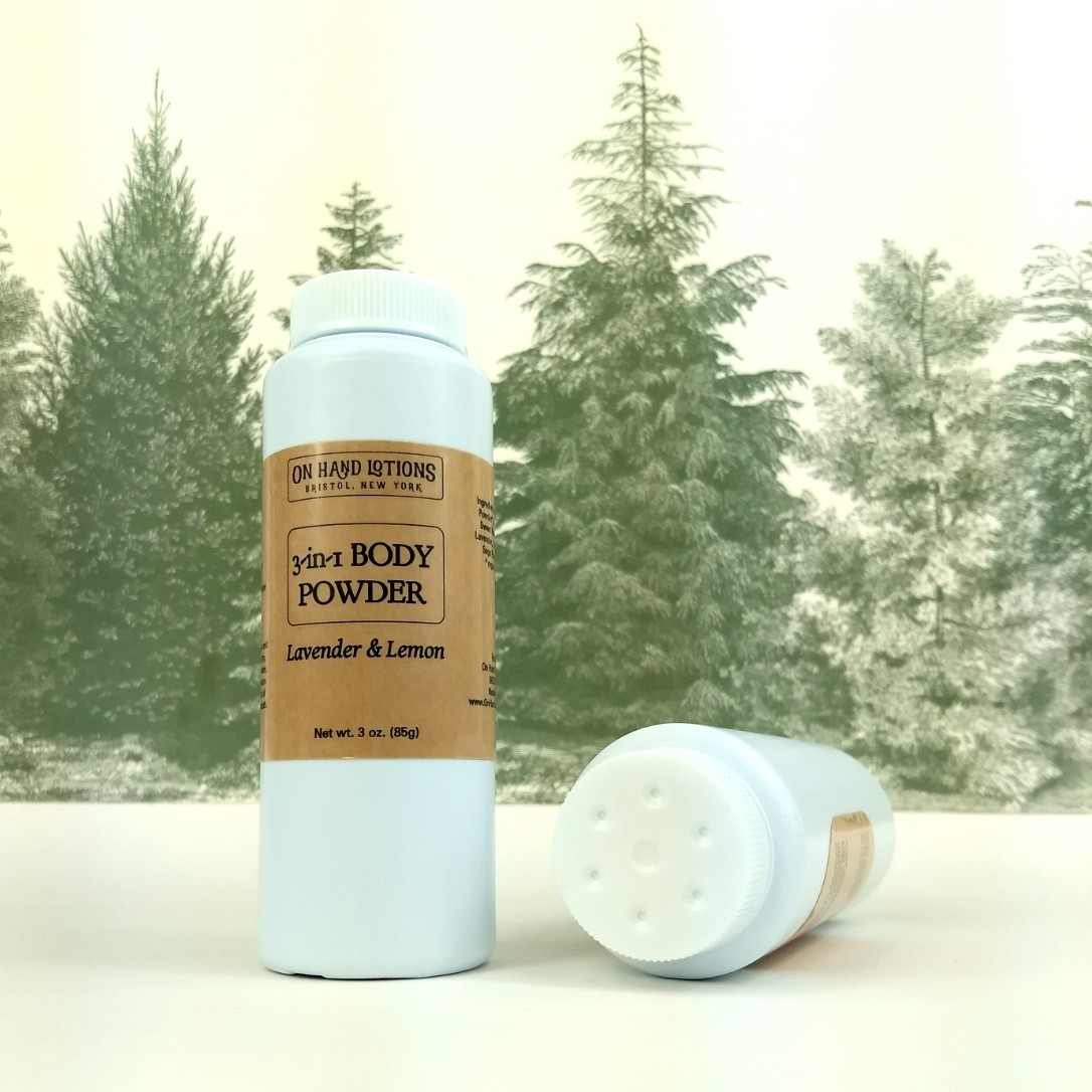 Lavender & Lemon 3-in-1 Body Powder & Dry Shampoo