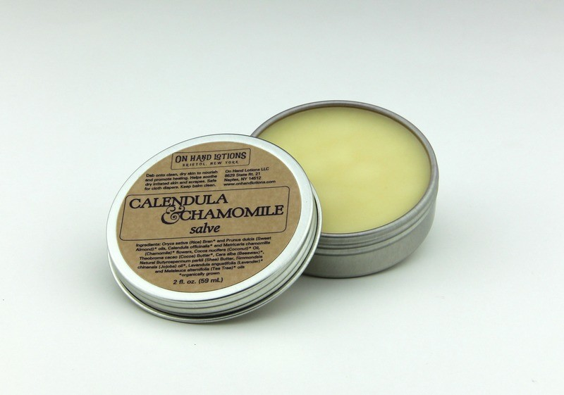 Calendula & Chamomile Salve - 2 oz or 4 oz - Wholesale