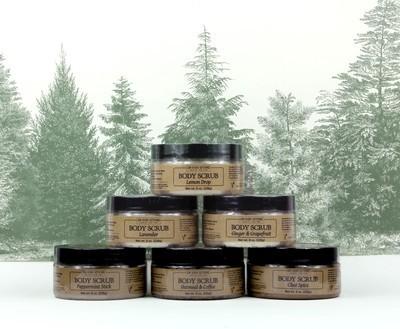 Body Scrub - 4 pack - Wholesale