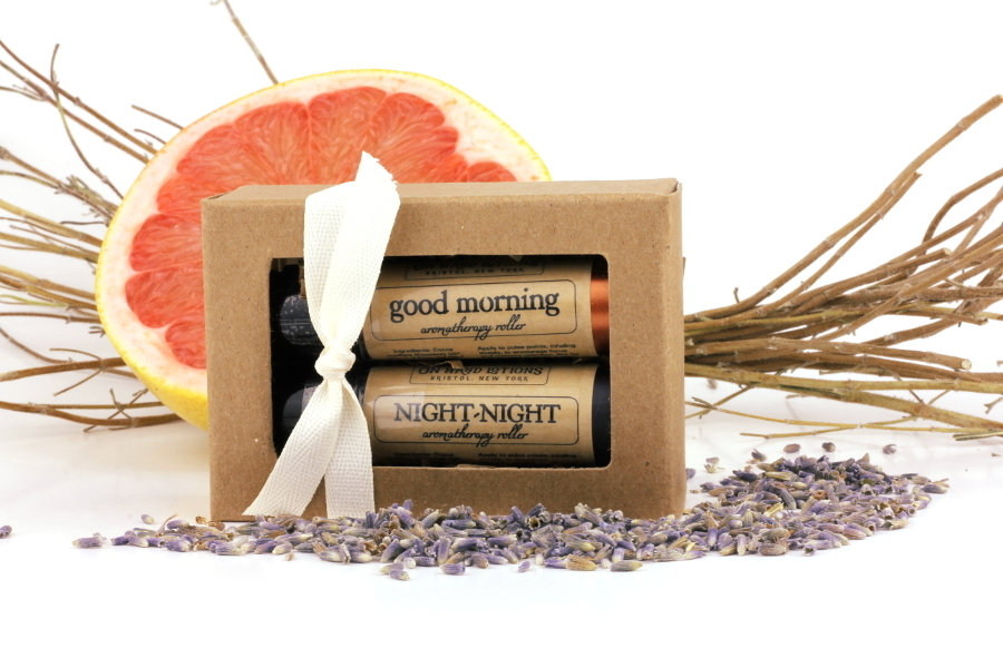 Day and Night Aromatherapy Roller Gift Set