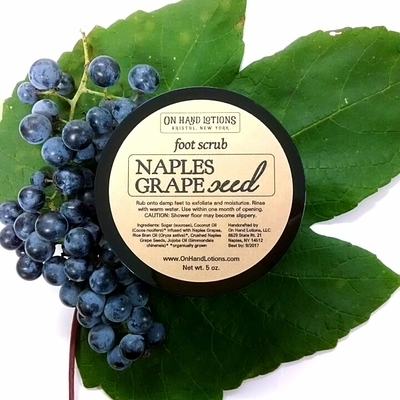 Naples Grapeseed Foot & Hand Scrub