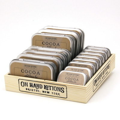 POP Box - Filled - Solid Lotion Bars - By The Scent - Wholesale