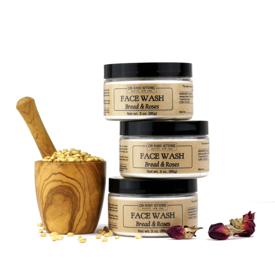 Face Wash & Mask - Cleansing Clay or Bread & Roses - 4 pack - Wholesale