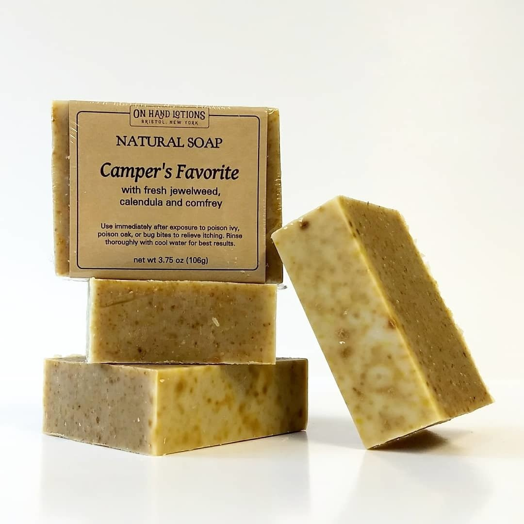 Camper's Favorite: Jewelweed Soap