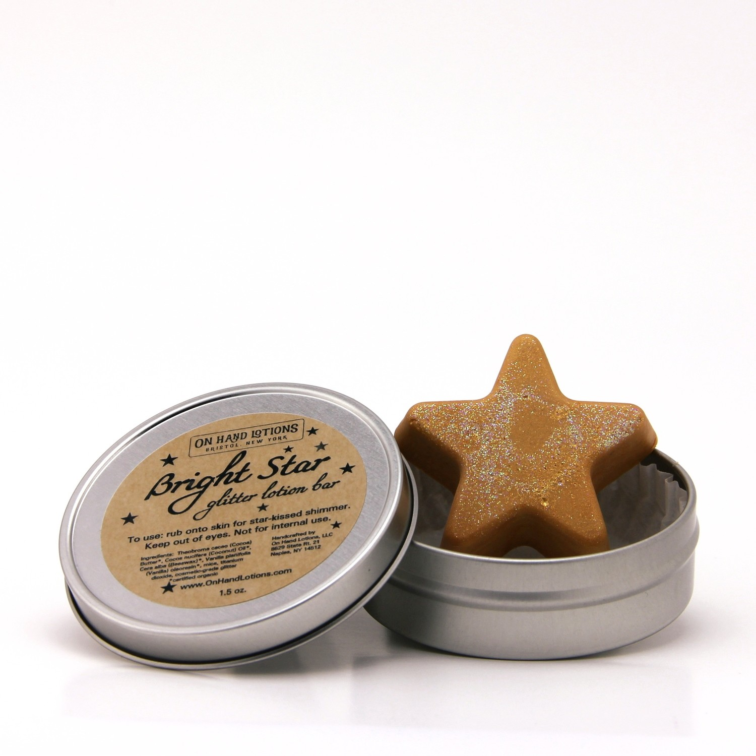 Bright Star Glitter Lotion Bar - 4 pack - Wholesale