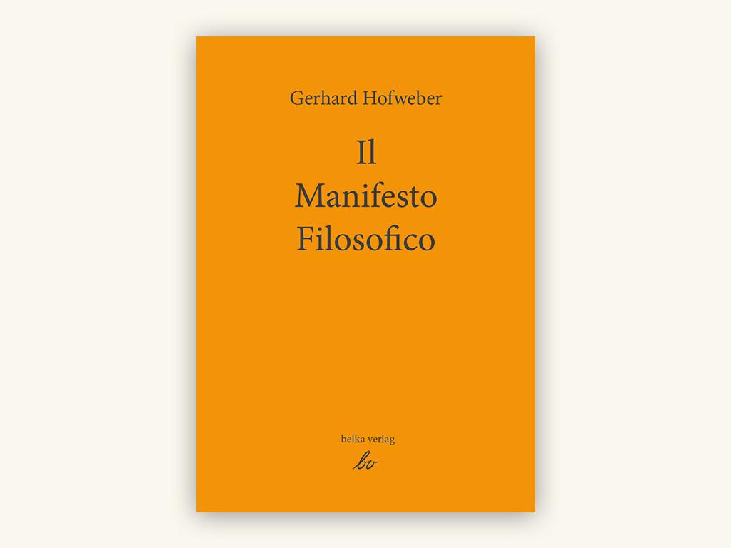 Il Manifesto Filosofico