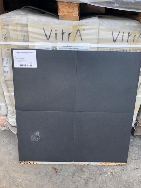 12x12 Black Tile