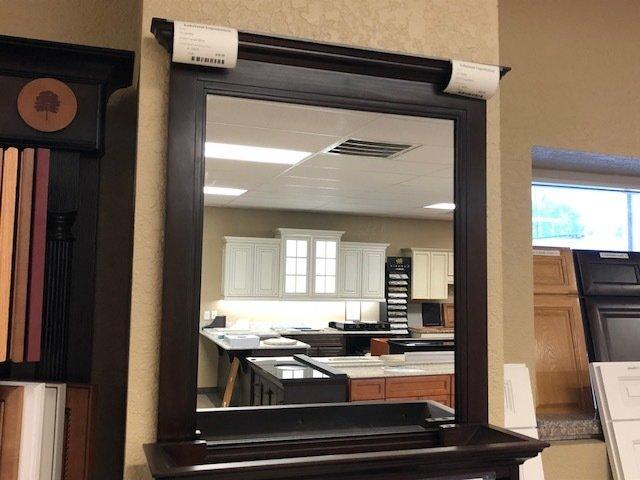 Framed mirror 27x30
