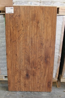 Classic Hickory Laminate 12mm with the pad attached