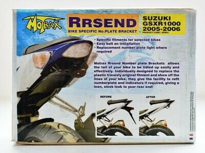 Porta Targa  Motrax Rrsend Suzuki gsxr 1000 2005 2006