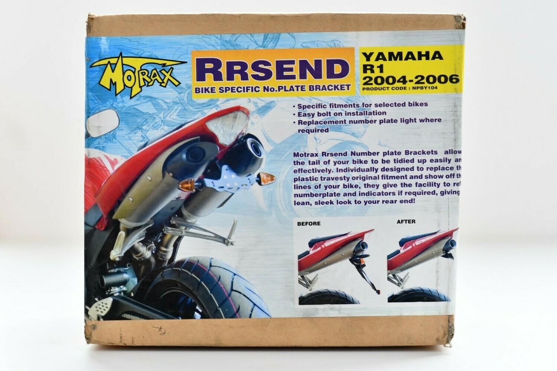 Porta Targa  Motrax Rrsend per Yamaha R1 2004-2006 codice Nby104