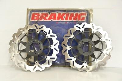 STX30D Coppia DISCO FRENO anteriore Braking per moto HONDA CBR RR 900 1998-1999