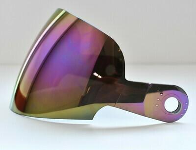 Visiera originale per casco Suomy Booster colore IRIDIUM. Codice visiera KAJ00
