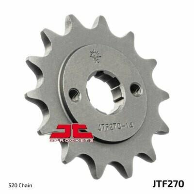 PIGNONE JT 270 z14 pignone per catena moto 14 denti