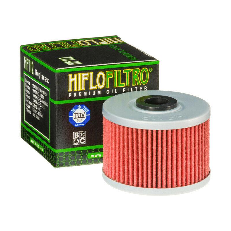 HF112 FILTRO per moto  OLIO MOTO PER HONDA DOMINATOR650  XR250/400RFILTRO HILFO