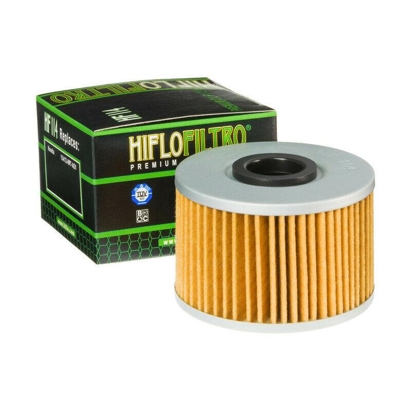 FILTRO OLIO PER MOTO HONDA TRX FOURTRAX 420 09-11FILTRO HILFO HF114