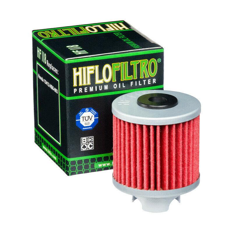 FILTRO OLIO PER MOTO HONDA TRX 125 FILTRO HILFO HF118