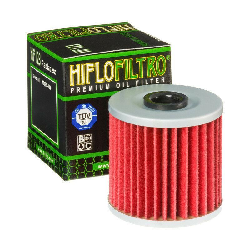 FILTRO OLIO per moto KAWASAKI KLR 650 87-03 FILTRO HILFO HF123