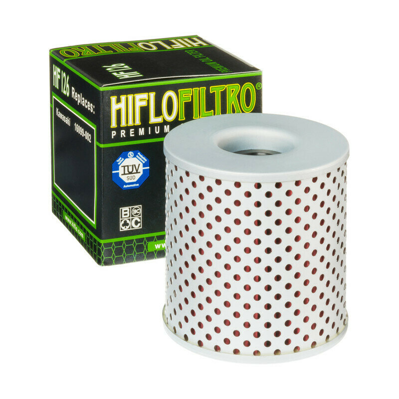 FILTRO OLIO per moto KAWASAKI FILTRO HILFO Kawasaki Z 900 73-75 Filtro hilfo HF126
