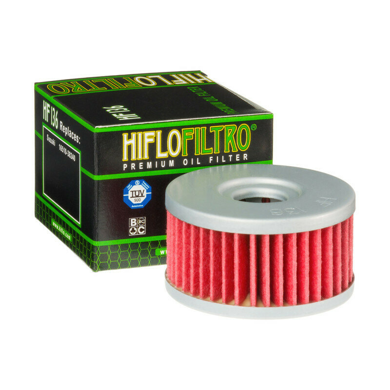 HF136FILTRO OLIO per moto  SUZUKI DR 250 Z01-02 - DR350FILTRO HILFO