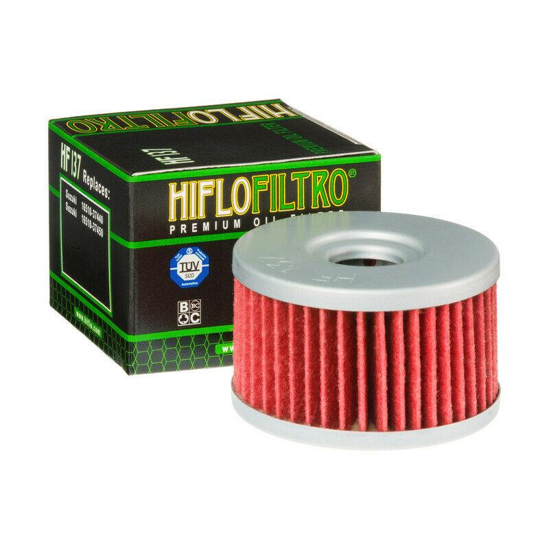 HF137FILTRO OLIO  per moto  SUZUKI DR 650/80090-02FILTRO HILFO