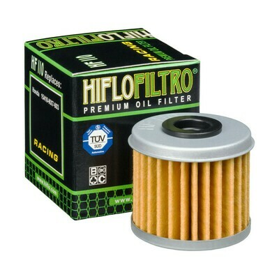 HF110FILTRO OLIO HONDA NSF 250R 17-FILTRO HILFO