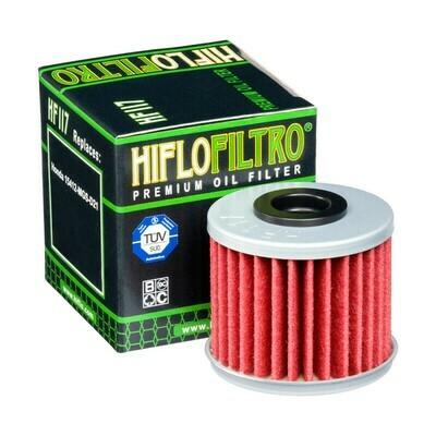 HF117FILTRO OLIO HONDA INTEGRA 700/750- CRF 1000 AFRICA TWIN 16-FILTRO HILFO