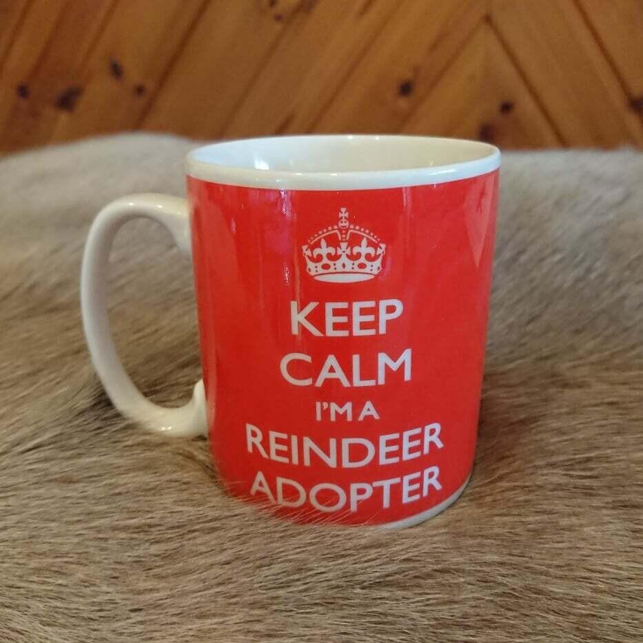 Reindeer Adopter Mug