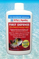DrTim's First Defense Fish Stress Relief for Freshwater Aquaria