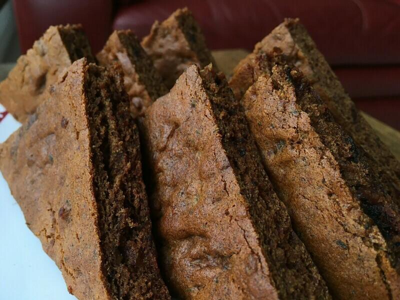Dark Sticky Ginger Cake