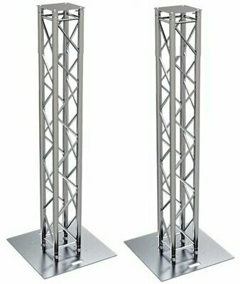 (2) Global Truss 7.4ft Sectional Square Trussing Package