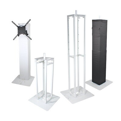ProX XT-FLEXTOTEM TV - Collapsible Totem Package