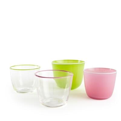 Charmagical Short Glass Tumbler - set of six