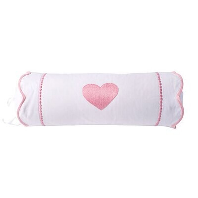 Hearts with Dots Neckroll